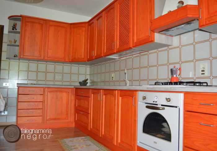 Cucine in legno - Cucina seconda mano biella ...