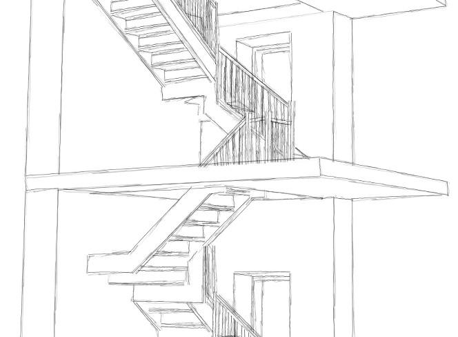 Scale e balconi - Progetto scale interne ...