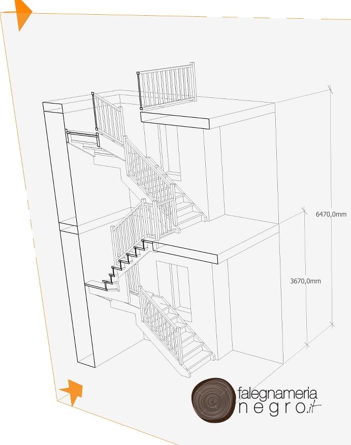 Progettazione scala