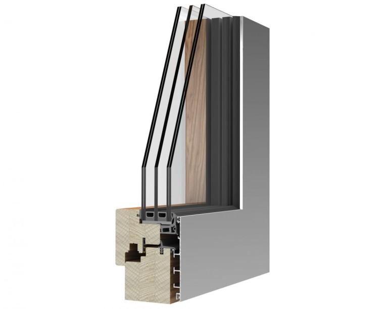 Serramento in Legno-alluminio